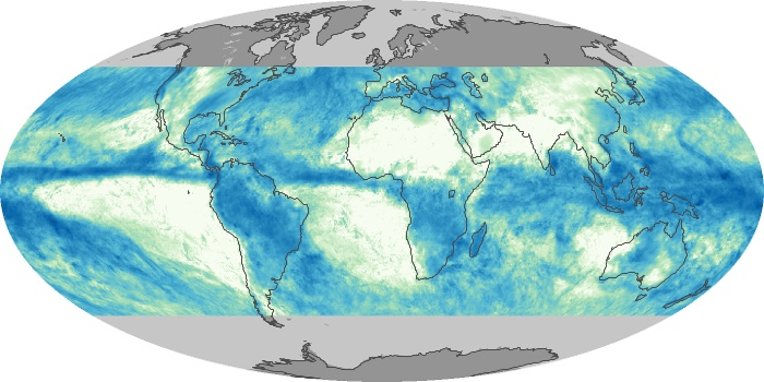 Global Map Total Rainfall Image 48
