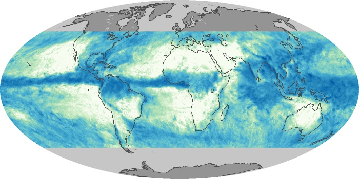 Global Map Total Rainfall Image 29