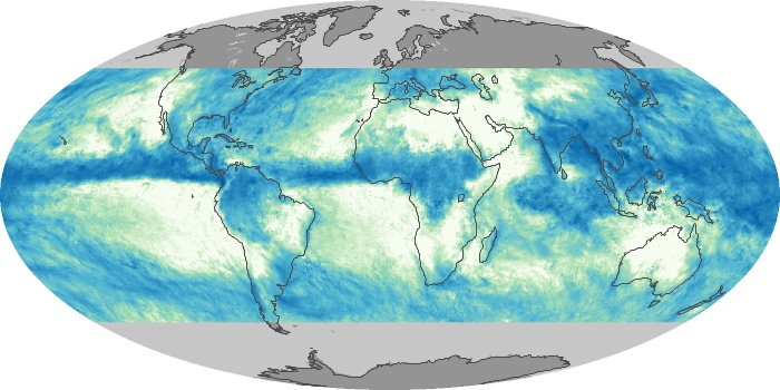 Global Map Total Rainfall Image 31