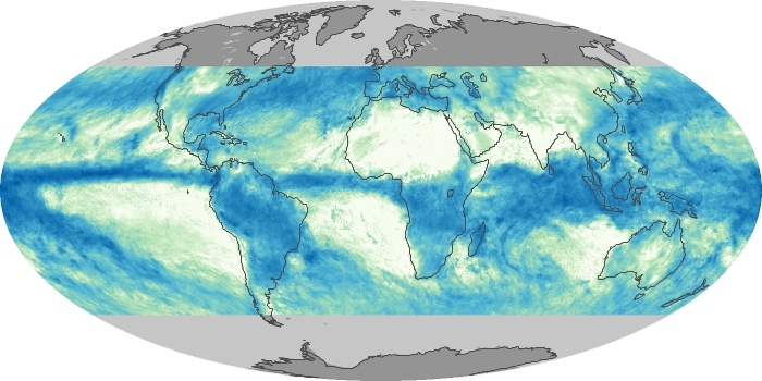 Global Map Total Rainfall Image 35