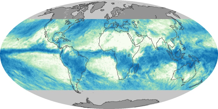 Global Map Total Rainfall Image 36