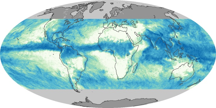 Global Map Total Rainfall Image 42