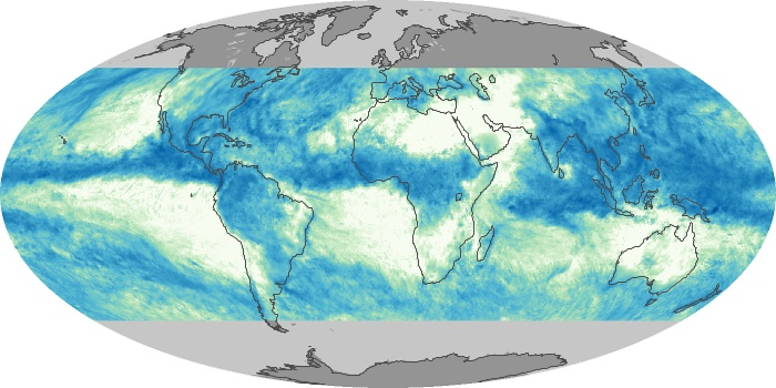 Global Map Total Rainfall Image 15