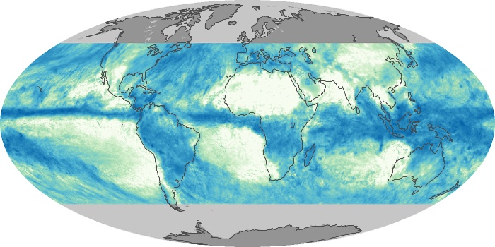 Global Map Total Rainfall Image 72