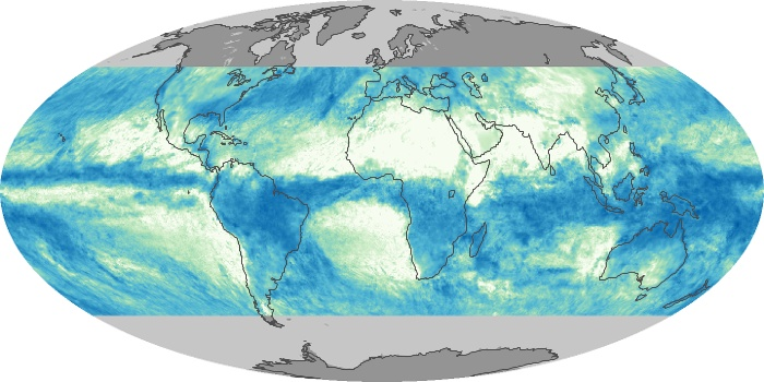 Global Map Total Rainfall Image 49
