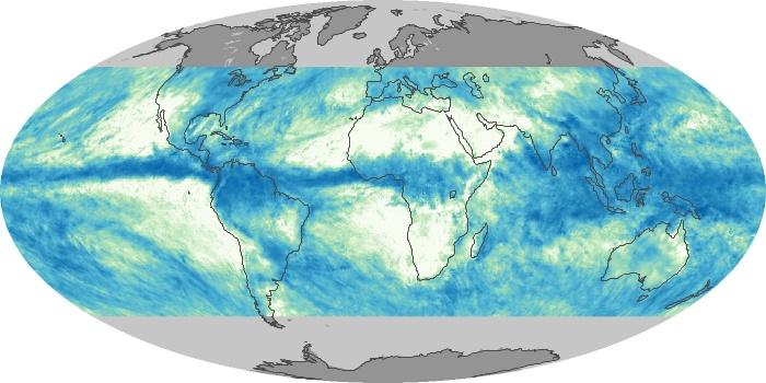 Global Map Total Rainfall Image 52