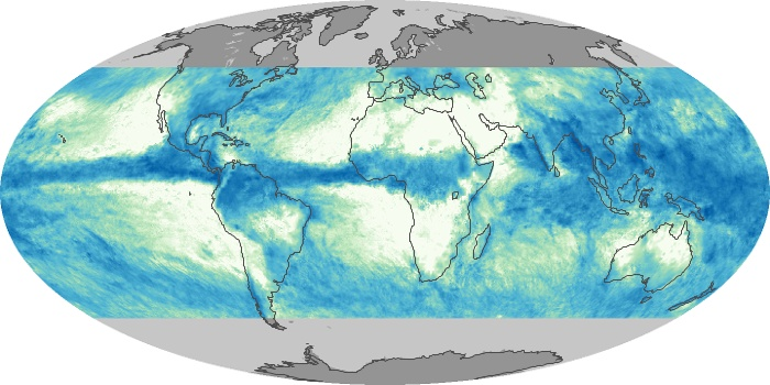 Global Map Total Rainfall Image 53