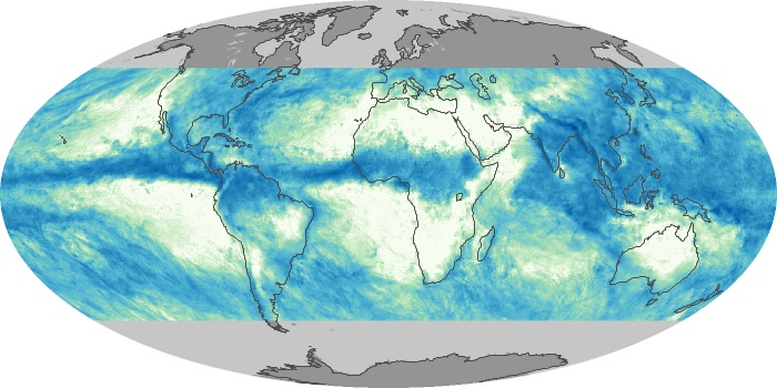 Global Map Total Rainfall Image 79