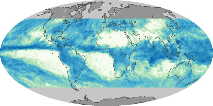 Global Map Total Rainfall Image 57