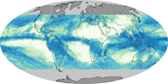 Global Map Total Rainfall Image 71