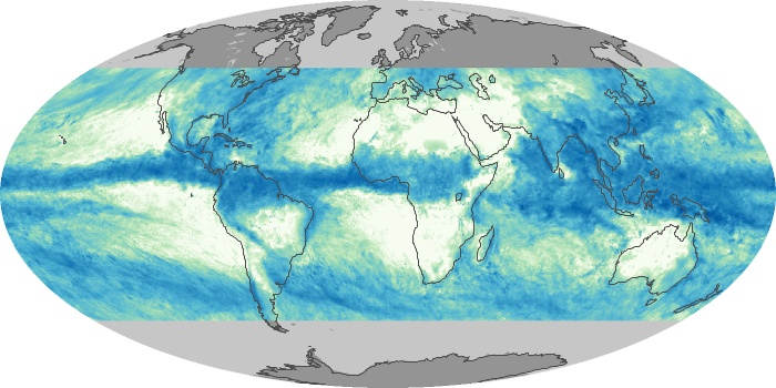 Global Map Total Rainfall Image 77