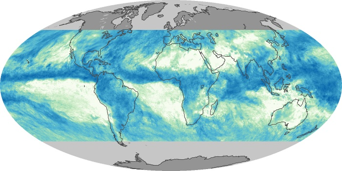 Global Map Total Rainfall Image 4