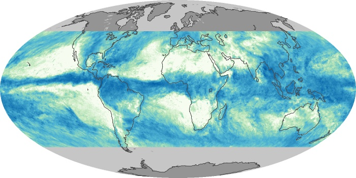 Global Map Total Rainfall Image 11
