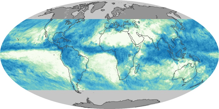 Global Map Total Rainfall Image 118