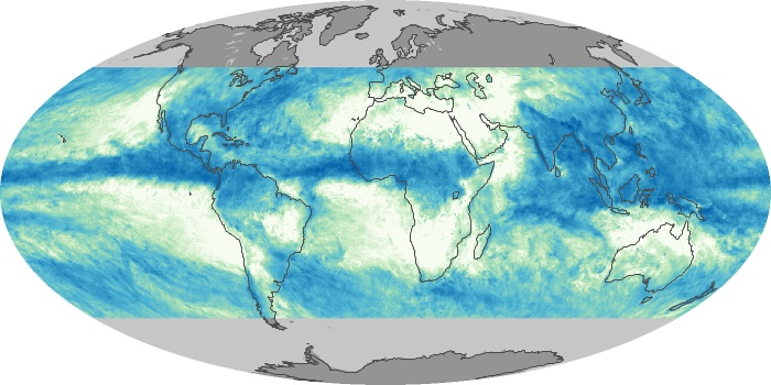 Global Map Total Rainfall Image 26