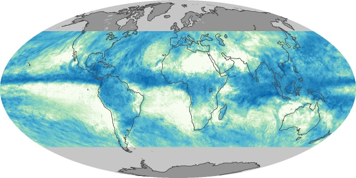 Global Map Total Rainfall Image 28