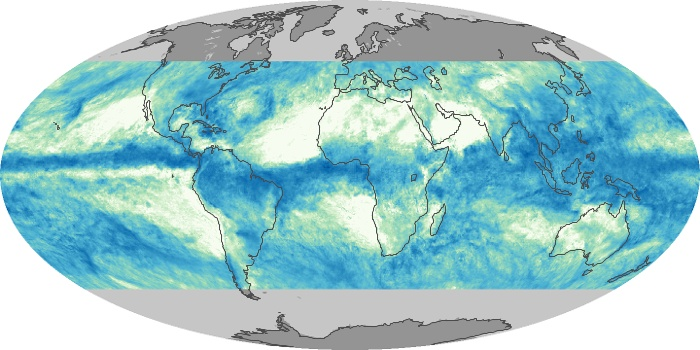 Global Map Total Rainfall Image 112