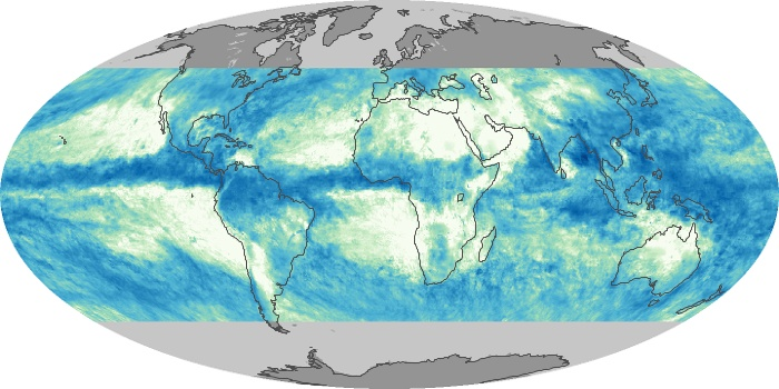 Global Map Total Rainfall Image 113