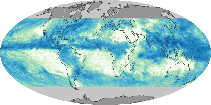 Global Map Total Rainfall Image 39