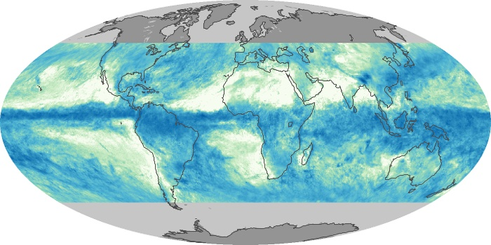 Global Map Total Rainfall Image 123