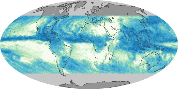 Global Map Total Rainfall Image 128