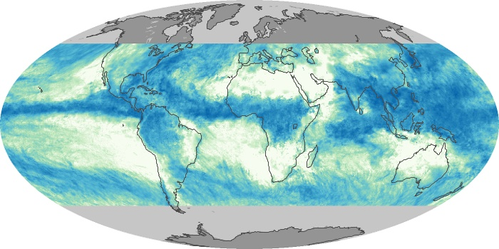Global Map Total Rainfall Image 140