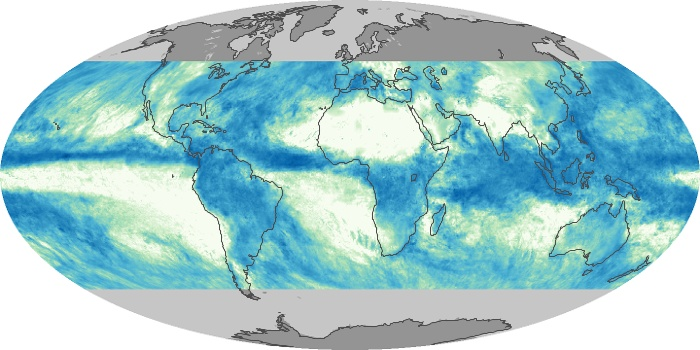Global Map Total Rainfall Image 65