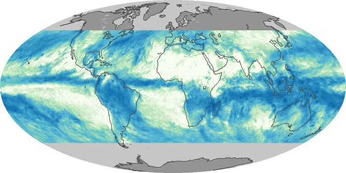 Global Map Total Rainfall Image 67