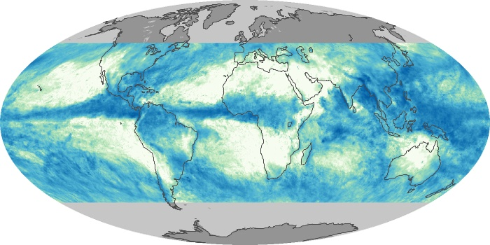Global Map Total Rainfall Image 149