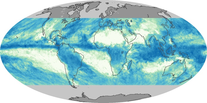 Global Map Total Rainfall Image 179