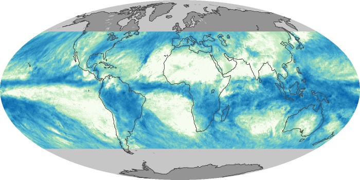 Global Map Total Rainfall Image 181