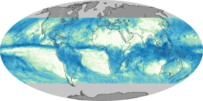 Global Map Total Rainfall Image 167