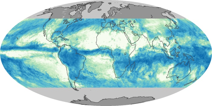 Global Map Total Rainfall Image 169