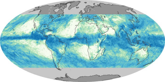 Global Map Total Rainfall Image 197