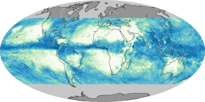 Global Map Total Rainfall Image 173
