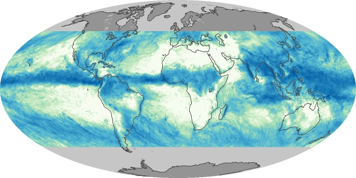 Global Map Total Rainfall Image 199