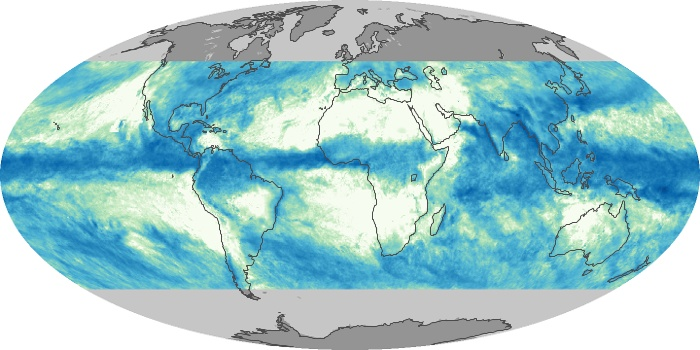 Global Map Total Rainfall Image 108
