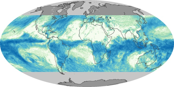 Global Map Total Rainfall Image 116