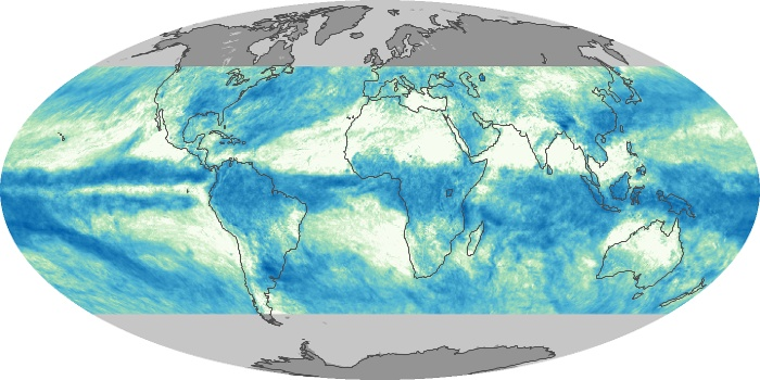 Global Map Total Rainfall Image 195