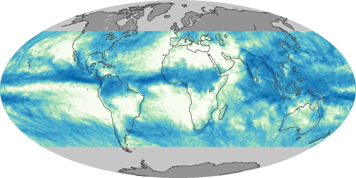 Global Map Total Rainfall Image 198