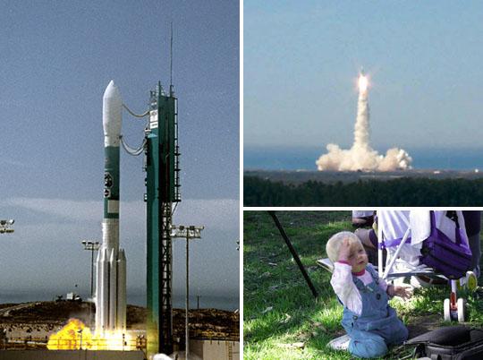Landsat 7 Launch