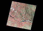 First Landsat-7 Image