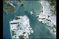 San Francisco from Landsat 7