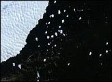 Iceberg B10A Calving