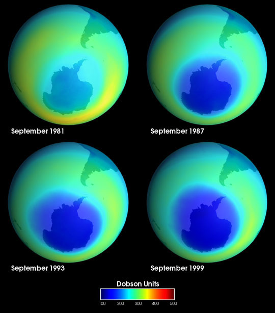 Ozone Hole Over Antarctica - related image preview