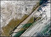 Decreasing Snowfall in North America