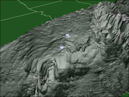 Lightning Strike Patterns Over Oklahoma