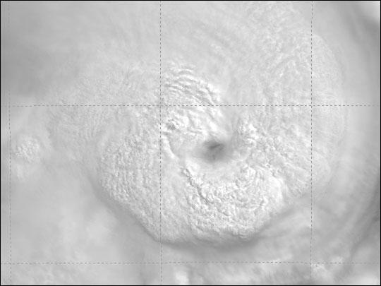 Cyclone Hudah As Seen By MODIS