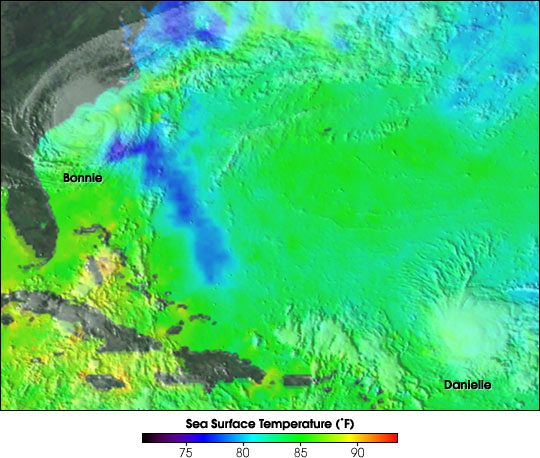 Microwave Imager Measures Sea Surface Temperature Through Clouds - related image preview