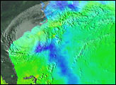 Microwave Imager Measures Sea Surface Temperature Through Clouds - selected image